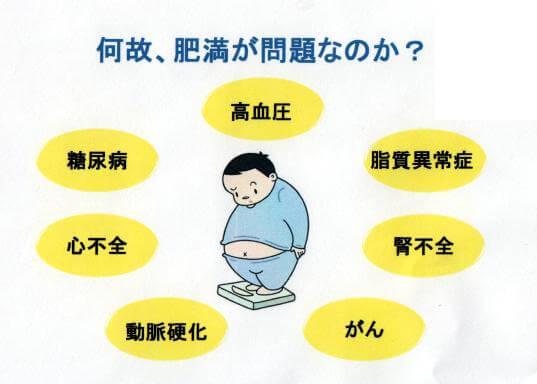 肥満症の問題点