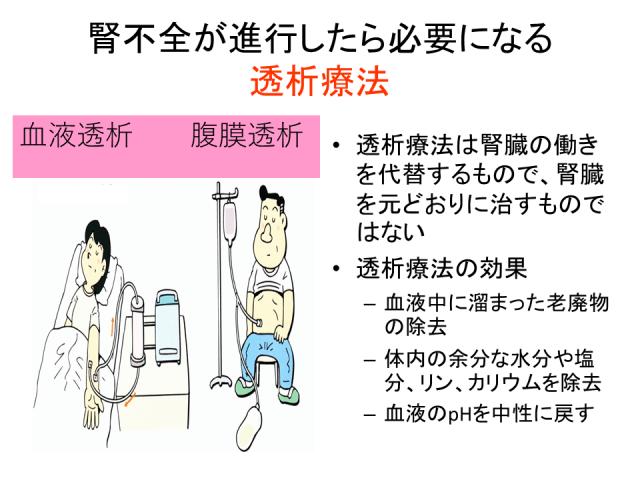 糖尿病性腎症から透析へ