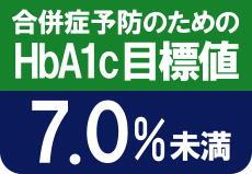 HbA1c7%未満が必要